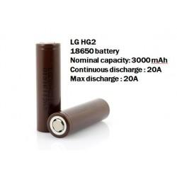 LG HG2 ORİJİNAL  (VTC6 MUADİLİ) 18650 3.7V 3000 mAh 20A Discharger
