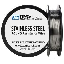 Temco Stainless Steel 32 ga Tel