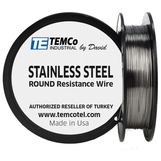 Temco Stainless Steel 28 ga Tel