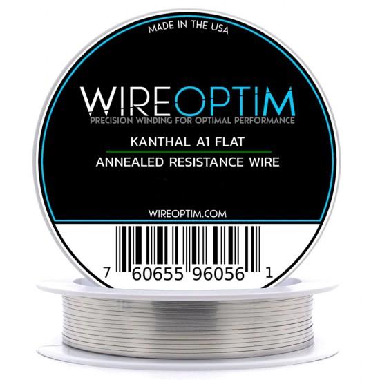 Wireoptim Kanthal A1 Flat 0,3 * 0,1 mm