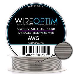 Wireoptim Stainless Steel 24 Ga Tel